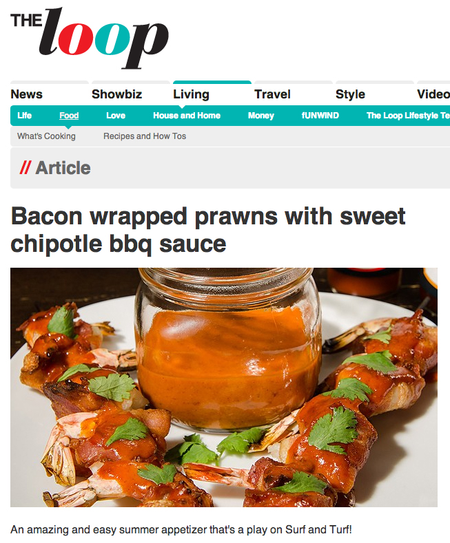 TheLoop.ca features Northern Soul Sweet Chipotle Surf+Turf appetizers!