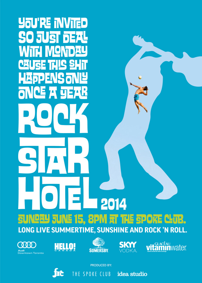 Dine Alone Foods exclusives at Rockstar Hotel + MMVA after-party