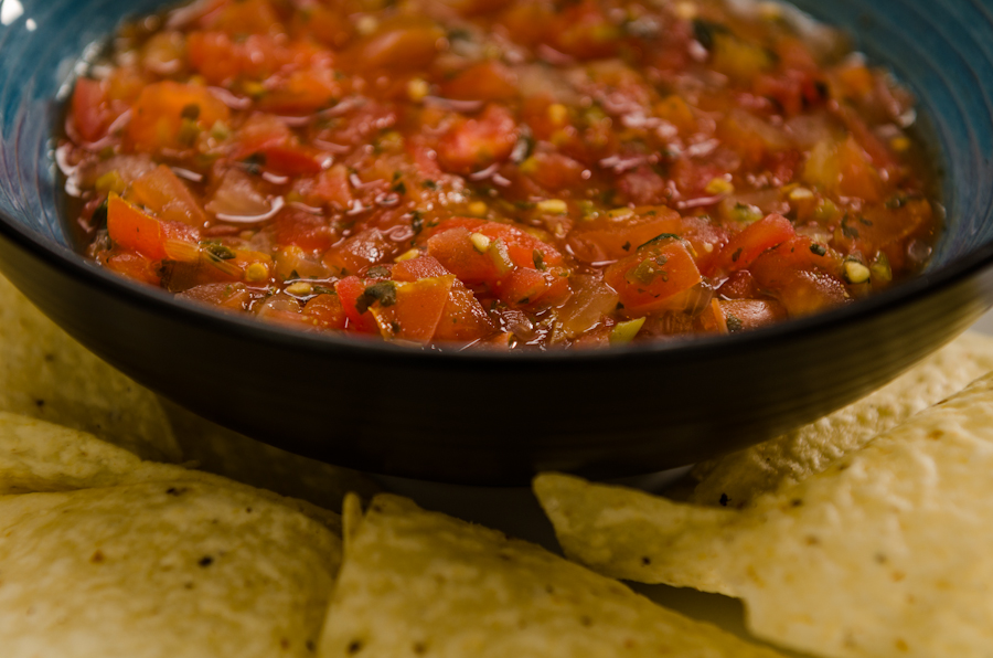 Recipe for Fresh, Quick and Easy Salsa